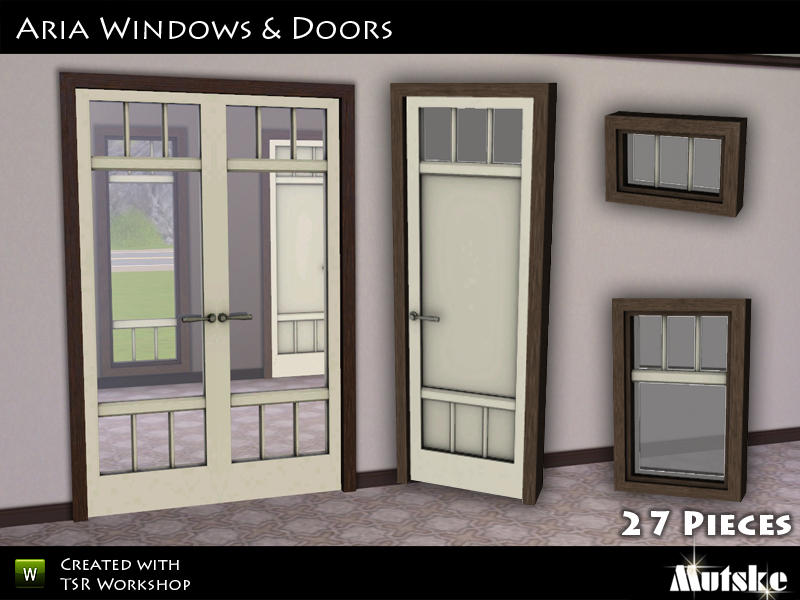 Sims 3 Windows And Doors Downloads