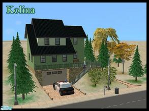Sims 2 — Kolina by ricarpin762 — This house was created in a snowy environment on a slope, ideal for those neighborhoods