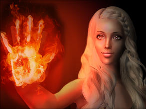 Sims 2 — Daenerys by MAXImalistka — Adult female sim. Dress by me included. Not included: Newsea Lullaby hair, Liana mesh