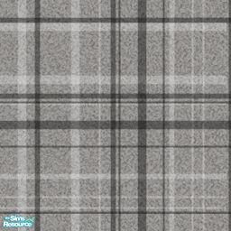 Grey Plaid Carpet - Carpet Vidalondon