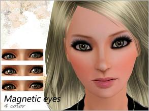 Sims 3 — Magnetic Eyes  by steadyaccess — For both genders from toddler to elder!