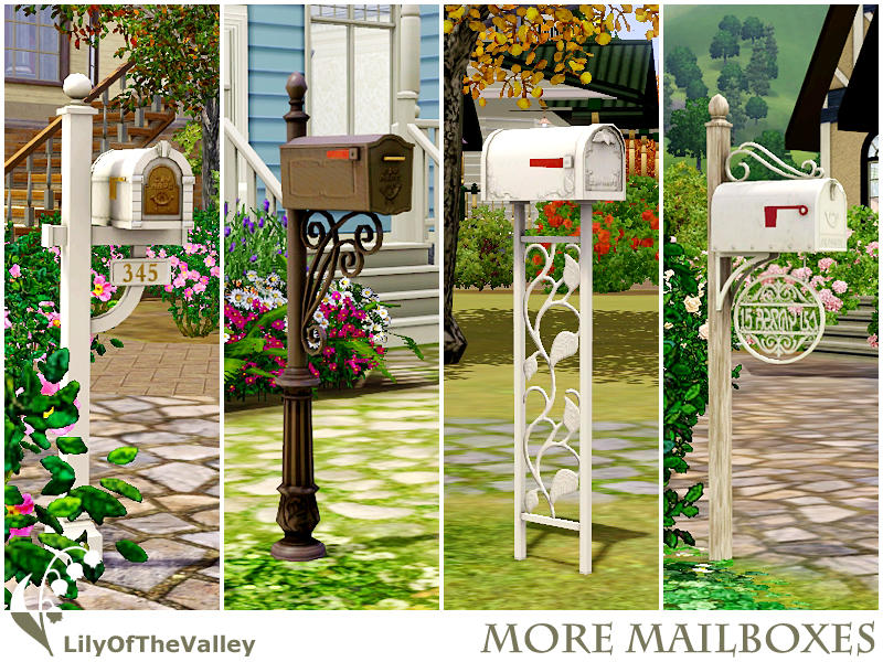 Lilyofthevalley S More Mailboxes