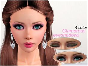 Sims 3 — Glamorous Eyeshadows  by steadyaccess — 4 recolorable parts! For female sims from teen to elder. Hope you'll
