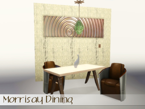 Sims 3 — Morrisay Dining by Angela — Morrisay dining, more exclusive dining that will fit in most interiours. Set