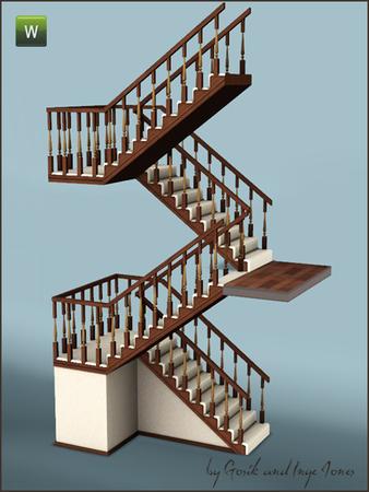 Gosik 39 S Cottage Half Landing Stairs