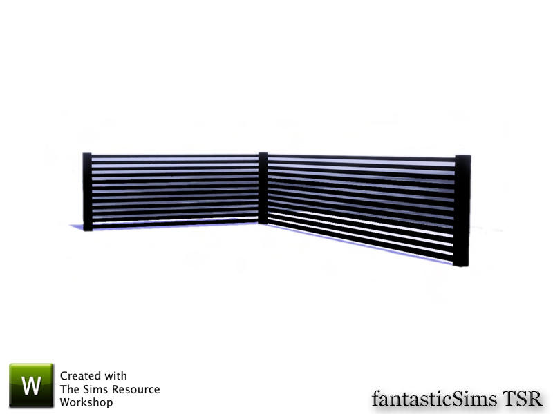 fantasticSims' Modern Designs Horizontal Half Wall