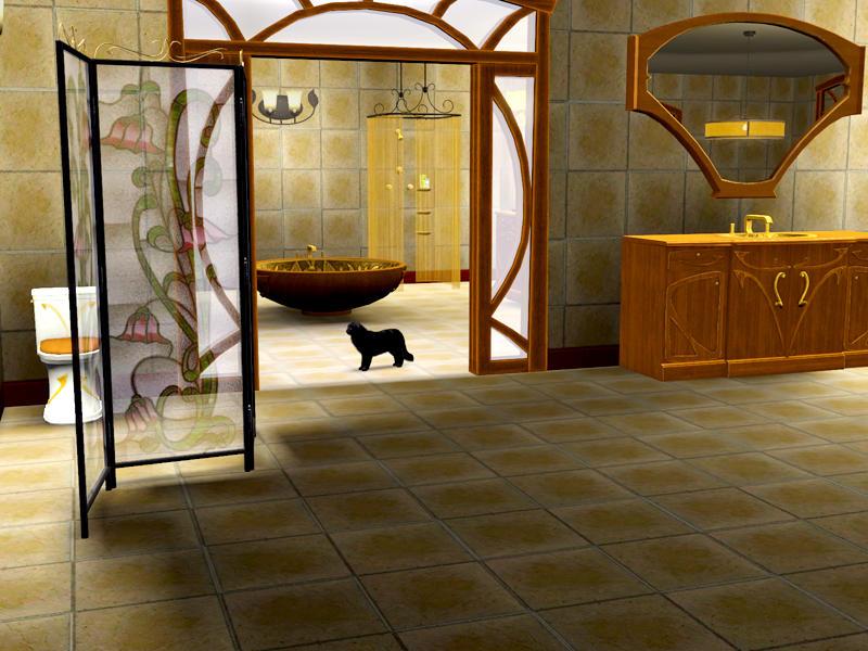 Shinokcr S Art Nouveau Bathroom