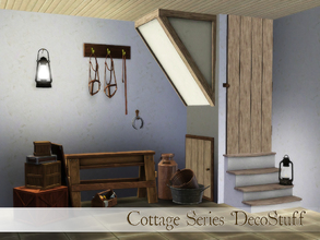 Sims 3 — Cottage Series Decostuff by Angela — Set of decostuff for creating more cottage atmosphere in your homes, set