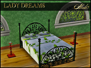 Sims 3 — LADY DREAMS by abuk0 — According to legend, the Lady of Shalott was forbidden to look directly at reality or the