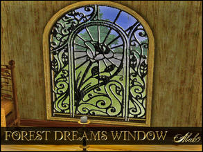 Sims 3 — FOREST DREAMS WINDOW by abuk0 — FOREST DREAMS WINDOW by abuk0