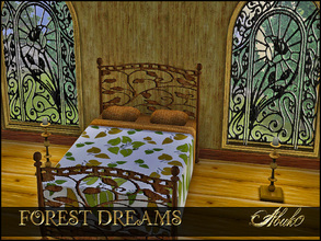 Sims 3 — FOREST DREAMS by abuk0 — dream in the forest like snow white........maybe its one of the dwarfs beds.......99