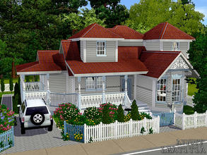 Sims 3 — Leatitia -Furnished- by ayyuff — 20x20 Fully furnished and decorated house with 2 bedrooms,2 baths.. No