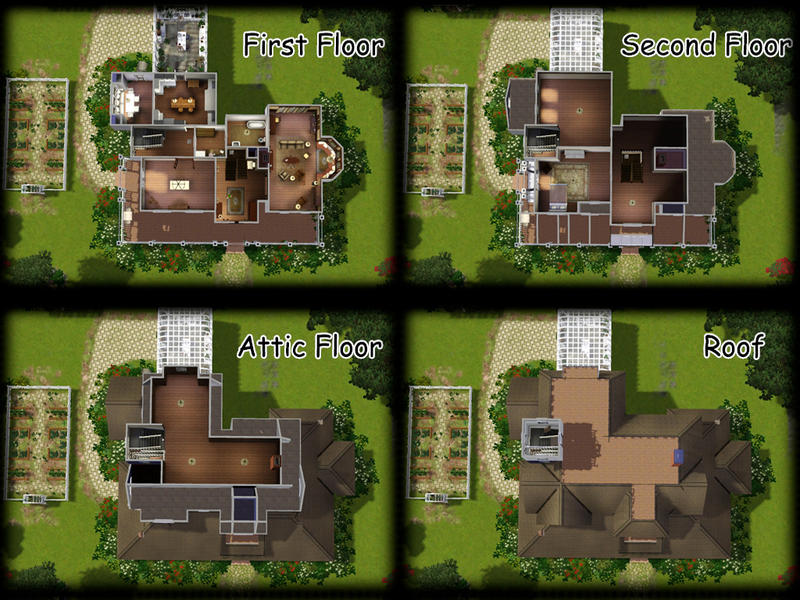 Practical Magic House Plans House Plan 2017