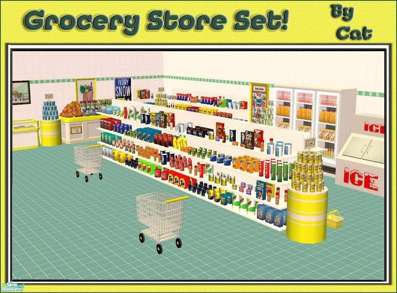 Cathee 39 S Grocery Store Set