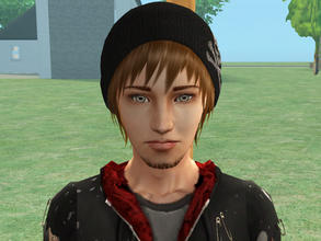 Sims 2 — Dayu Dreamer by SilantWanderer — This is the son of one of my CAS sims and the daughter of Darren Dreamer. None