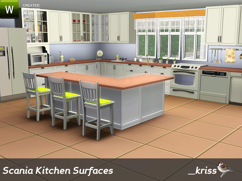 The sims 3 kitchen cabinets sims 4 kitchen cabinets sims for Sims 3 kitchen designs