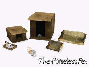 Sims 3 — The Homeless Pet by sim_man123 — Unfortunately, not ever pet is blessed with a safe and warm place to live. Now