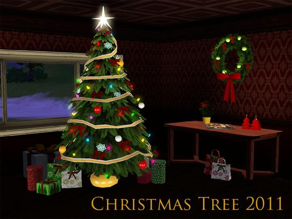 sim man123 39 s christmas tree 2011. Black Bedroom Furniture Sets. Home Design Ideas