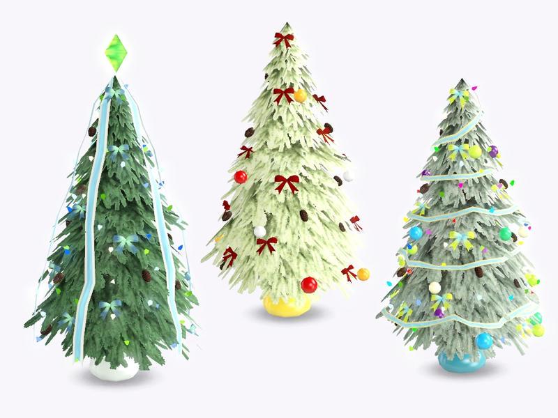 Christmas Tree The Sims 3