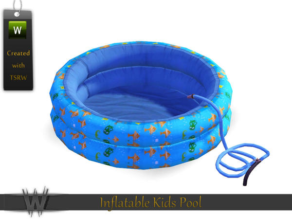 Wondymoon 39 s inflatable kids pool for Pool design sims 3