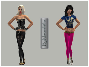 Sims 2 — MXM Runaways by MAXImalistka — Female adult everyday outfits