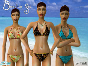 Sims 2 — Beachie Swimwear Set by filizk — After a break during holidays, I am back with some swimwears for adults. Happy