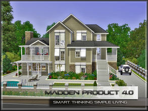 Sims 3 — MaddenProduct 4.0 (Furnished) by MaddenPro — MaddenPro 4.0 @ TSR Requires:Only Base Game.NO EP/SP Fully
