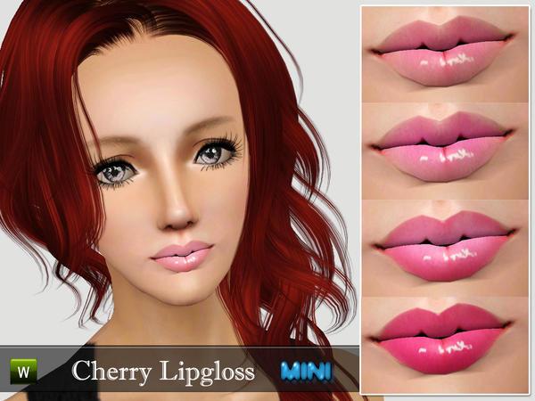 Cherry Lipgloss F&M by MINISZ