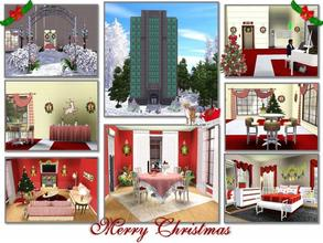 Sims 3 — Christmas House-2012-Full Furnished by TugmeL — TugmeL Apartment-09-Full Furnished Needs Basegame,and Late