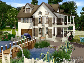Sims 3 — Caramelo -Furnished- by ayyuff — 30x30 Fully furnished and decorated house with 3 bedrooms,2 baths. Cretated