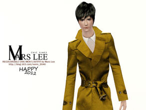 Sims 3 — Chic mens outfit - young adult only by kerm_2046 — RECOLORABLE CHIC MENS OUTFIT BY MARS LEE. Only Young Adult