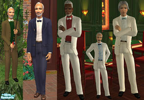 Sims 2 — Growing old with style! by macthekat — The old men are highly overlooked, but that does not mean that they have