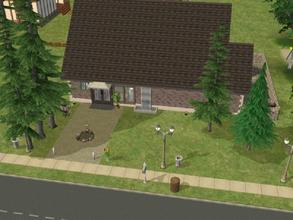 Sims 2 — Forest Fashion by Silerna — A small fashion for in your neighbourhood and for own business. Fully furnished in