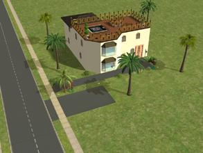 Sims 2 — Palm House by Silerna — A summer-looking house for your sims. There are some custom items used for the