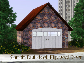 Sims 3 — ** FREE** Sarah Buildset FakeDoor 02 by Angela — Sarah Buildset Fakedoor for Garage 02. Made by Angela@TSR