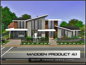 Sims 3 — MaddenProduct 4.1 (Furnished) by MaddenPro — MaddenPro 4.1 @ TSR,Enjoy it Requires ONLY BASE Game NO EP/SP and
