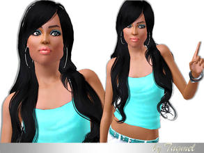 Sims 3 — Female ModeL-45 (YoungAdult) by TugmeL — Young Adult Female Model Needs Basegame Optional: Clothing for model