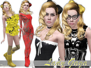 Sims 3 — Lady Gaga [Young Adult]  by TugmeL — Female Young Adult-46 **I have all EP's and SP's installed** ---NOT