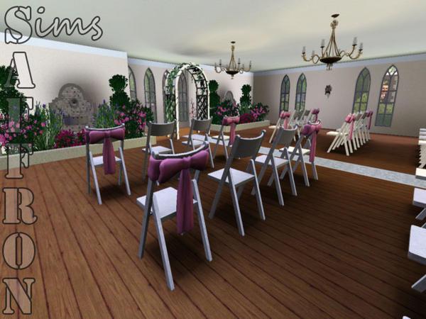 Sims Saffron's Riverview Wedding Chapel
