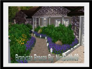 Sims 3 — Branigan Breeze by NiniBeMe692 — Step into the stylish contemporary ranch that is Branigan Breeze. With bold