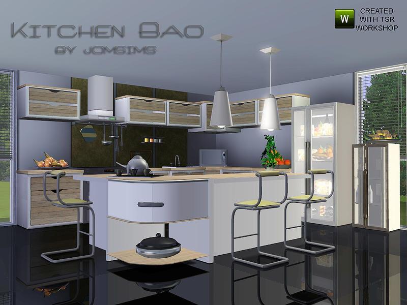 Round Kitchen Island Sims 4 Kitchen Design Tumblr