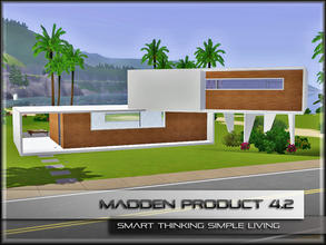 Sims 3 — MaddenProduct 4.2 (Furnished) -FREE- by MaddenPro — Fully Furnished,Modern Compact House... Enjoy it...
