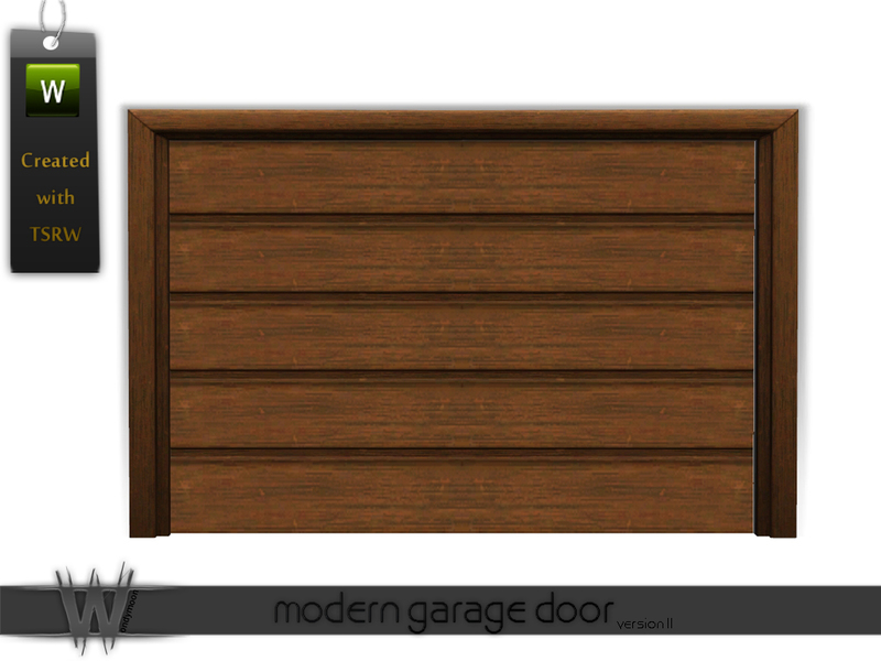wondymoon's Modern Garage Door [v.2]