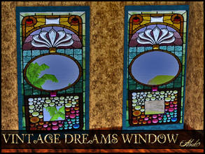 Sims 3 — VINTAGE DREAMS WINDOW by abuk0 — VINTAGE DREAMS WINDOW by abuk0