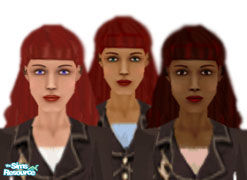 Sims 1 — Jennifer by siyang2 — A new head for girls! All skin tones.