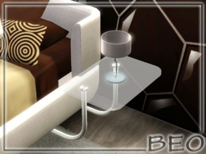 Sims 3 — Bedside table for right side by BEO — Bedside table for right side in 1 variant. ALSO DON'T FORGET TO DOWNLOAD