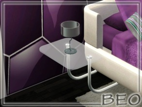 Sims 3 — Bedside table for left side by BEO — Bedside table for left side in 1 variant. ALSO DON'T FORGET TO DOWNLOAD THE