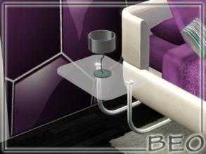 Sims 3 — Llighting table by BEO — Table lamp in 1 variants. Recolorable