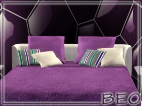 Sims 3 — Pillows for bed by BEO — Pillows for bed in 2 variants. Recolorable 3 canals. Use code (moveobjects on) to put