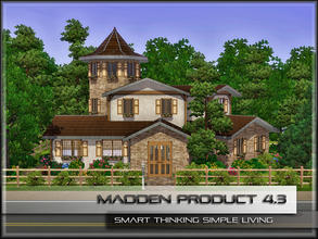 Sims 3 — MaddenProduct 4.3 (Furnished) by MaddenPro — MaddenPro 4.3 @ TSR,Enjoy it Cute,Cozy and Small Country
